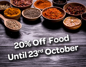 20% Off Food Offer - Spice Lounge Petersfield - Restaurant Petersfield - Authentic Indian Cuisine Hampshire - Free Local Delivery - Takeaway Menu - Set Menu - Weekly Offers