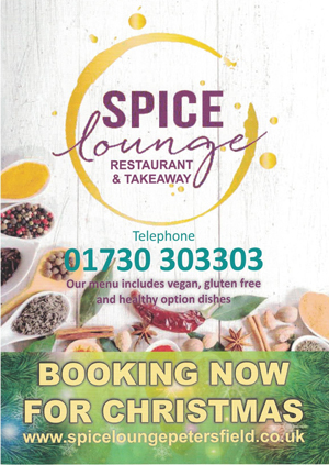 Christmas Offer 2018 - Spice Lounge Petersfield Restaurants Petersfield Restaurant Petersfield Authentic Indian Cuisine Hampshire Takeaway Menu